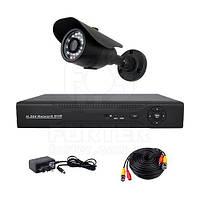 Комплект AHD видеонаблюдения на одну уличную камеру CoVi Security AHD-1W KIT