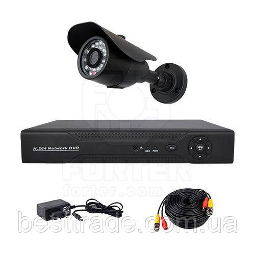 Комплект AHD видеонаблюдения на одну уличную камеру CoVi Security AHD-1W KIT - интернет-магазин Бест Трейд  в Чернигове