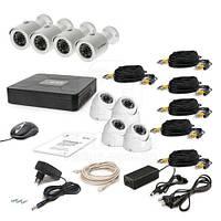 Комплект видеонаблюдения Tecsar AHD 8OUT MIX