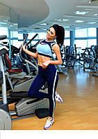 Спортивный костюм для фитнеса микро-дайвинг размеры 42,44,46