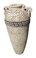 """Высокая ваза из шамота """"Капля"""" Высота 95 см.  Ландшафтный дизайн"""