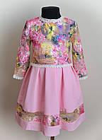 Детское платье сарафан, с кофточкой, двойка