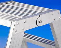 Лестницы и стремянки SVELT Двусторонняя стремянка SVELT P1 PLUS 2x9 ступеней
