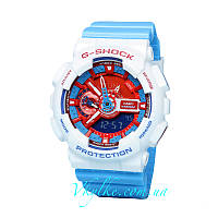 Часы Casio G-Shock GA-110 Blue&White AAA
