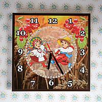 Годинник настінний Козачата