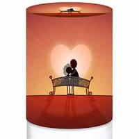 Чехол для 19л бутыли - День Валентина №6