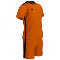 Футбольная форма PRIORITET (неоново оранжевая - черный), фото 2