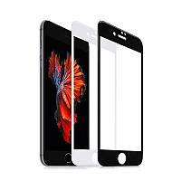 Защитное стекло для Apple iPhone 7 черное и белое