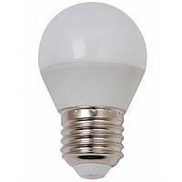 Лампа светодиодная LED G45 5W 220V 4100K E27 матовая