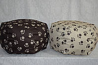 Лежанка пуф для собак и кошек