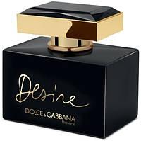 Женская туалетная вода Dolce & Gabbana The One Desire 75 ml