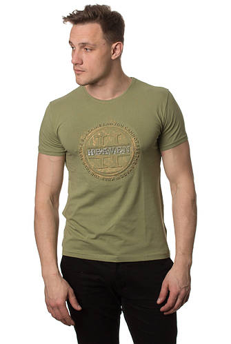 Стильная мужская футболка  с красивым принтом