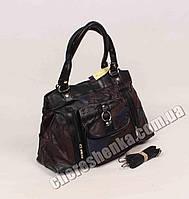 Женская сумочка кожаная из кусочков Tongle 033