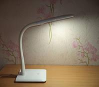 Светодиодная настольная лампа Delux TF110 (белая и черная) Белый