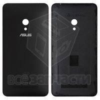 Задняя панель корпуса для мобильного телефона Asus ZenFone 5 (A501CG), черная, с боковыми кнопками