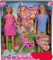 Набор кукол Штеффи Счастливая семья Happy Family Steffi Simba 5733200