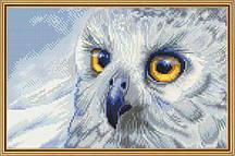 Набор для вышивания нитками  Полярная сова НВ 5510