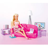 Кукла Штеффи в гостинной Steffi Love Simba 5730408, фото 1