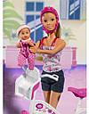 Кукла Штеффи на велосипеде Steffi Simba 5739050, фото 2