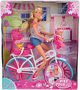 Кукла Штеффи на велосипеде Steffi Simba 5739050, фото 3