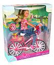 Кукла Штеффи на велосипеде Steffi Simba 5739050, фото 4