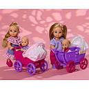 Кукла Еви с малышом в коляске Evi Simba 5736241R, фото 3