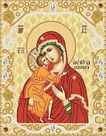 Схема для вышивки бисером Феодоровская икона Божией Матери