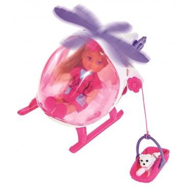 Кукольный набор Еви Спасательный вертолет Evi Simba 5739469