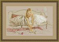Набор для вышивания нитками Танцовщица