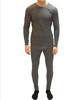 Комплект термобелья мужской серый Украина (термофутболка и лосины термо)