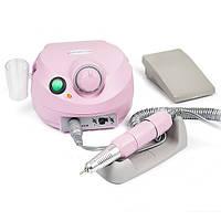 Фрезер для маникюра, комбинированого педикюра Escort 2 Pro розовый, 30-35 000 об/мин с педалью вкл/выкл