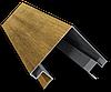 Угол внешний для металлического блок-хауса
