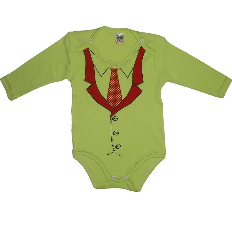 Боди с длинным рукавом 62-80 арт.11215                                                               - Интернет магазин детских товаров «КУЗЯ»  в Виннице
