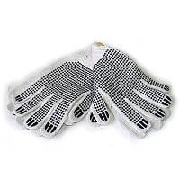 Набор перчаток хозяйственных из ПВХ точкой 3 пары