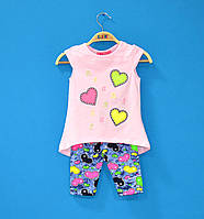 Детские костюмы для девочек 3-6 лет, Летние костюмы для девочки