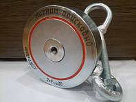 """Пошуковий магнит """" РЕДМАГ двосторонній сила 400 кг, фото 1"""