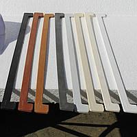 Торцевая накладка пластиковая для подоконника Topalit и Werzalit