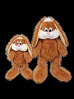 Зайчик «Несквик» 100 см мягкая игрушка фабрики Алина. Плюшевые игрушки, плюшевый зайчик, магазин Анилина