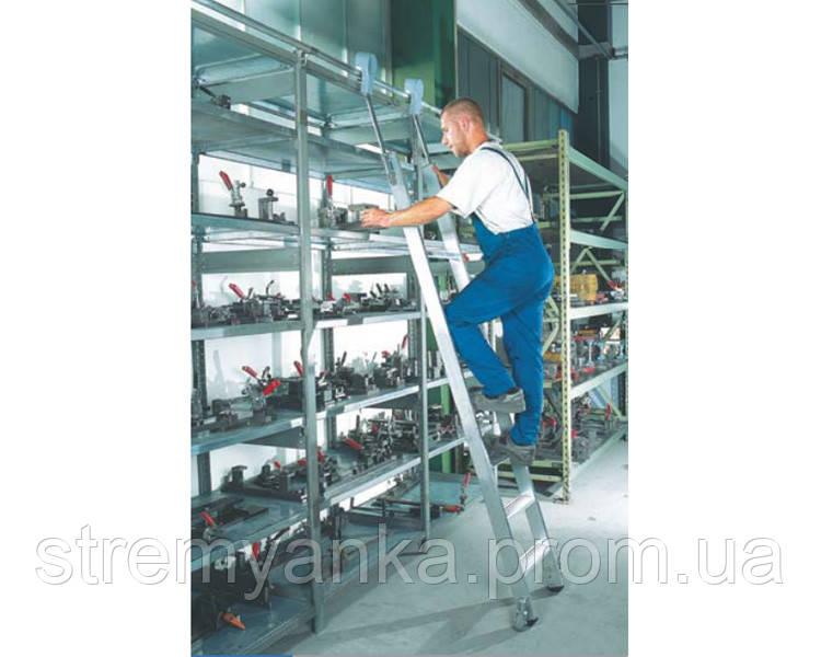 Лестницы и стремянки SVELT Алюминиевая труба лестницы для стеллажей SVELT - STREMYANKA в Киеве