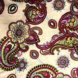 Ткань коттон набивной легкий (Восточный рисунок), фото 3