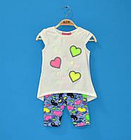 Детские костюмчики для девочек 3-6 лет, Летние костюмы для девочек