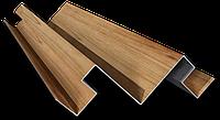 Угол внутренний для металлического блок-хауса