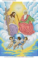 """А2 """"Святая Троица"""" схема для вышивки бисером иконы"""