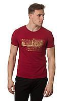 Модная   мужская футболка  с красивым принтом