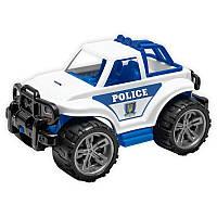 Детская машинка полиция. Детская игрушка ТехноК Внедорожник 3558.Игрушечный внедорожник (полиция).