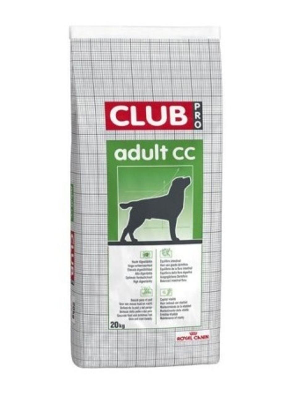 Сухой корм для собак Royal Canin Club CC Adult 20КГ