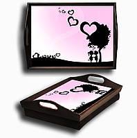 Поднос на подушке PR-AM06 романтика