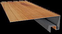 Околооконная планка для металлического блок-хауса
