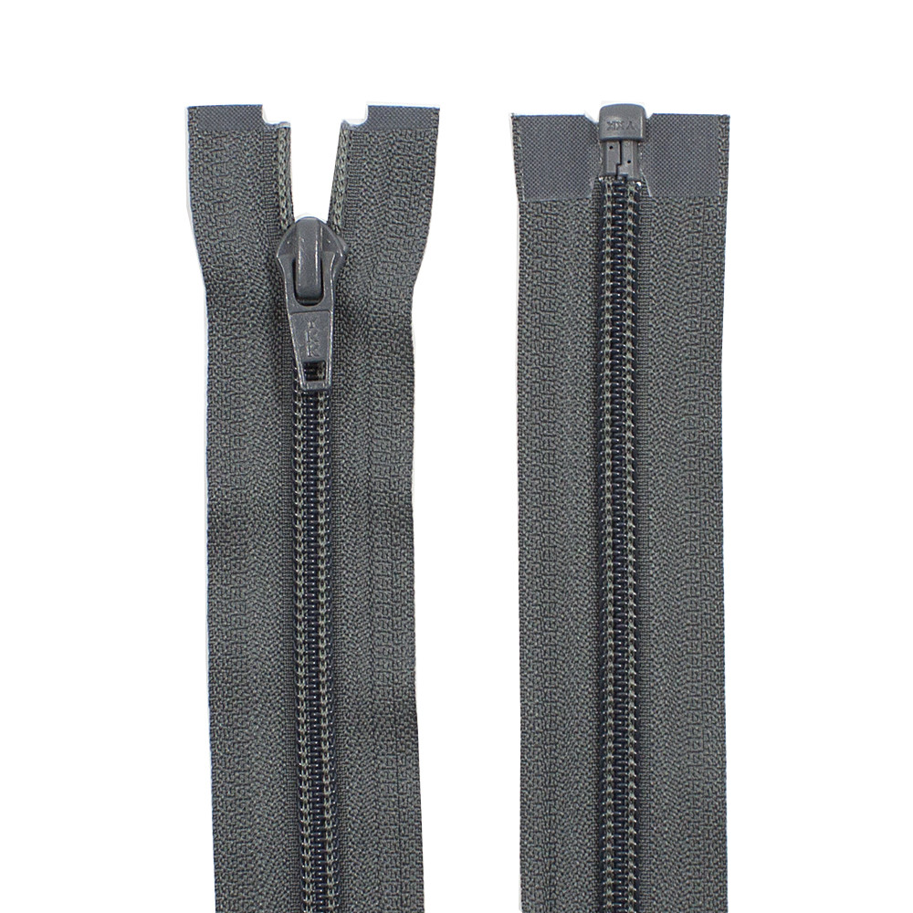 Молния YKK пластик 50 см тип 5, цвет 182-серый