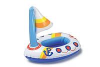 Игрушка надувная для мальчика детская Кораблик Intex